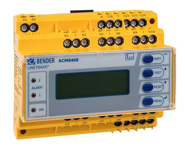 Monitor de corriente LINETRAXX® RCMS460-D