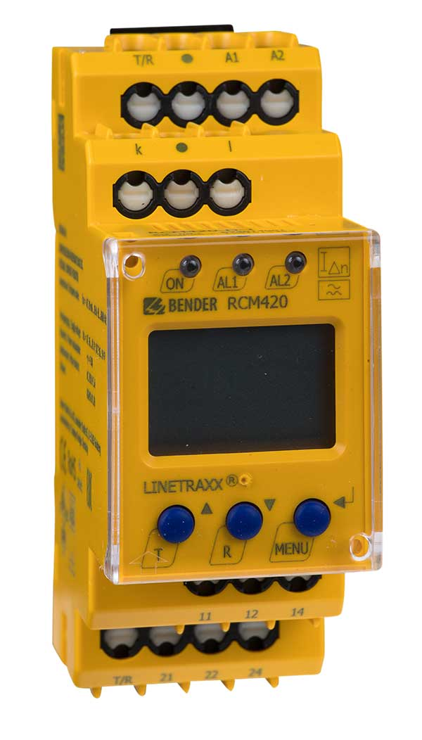Monitor de corriente LINETRAXX® RCM420