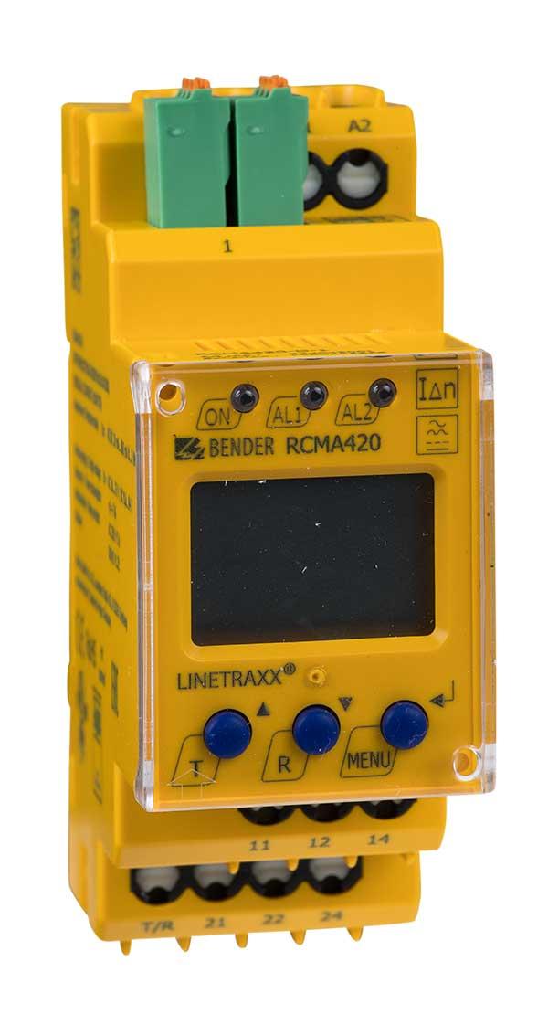 Monitor de corriente LINETRAXX® RCMA420