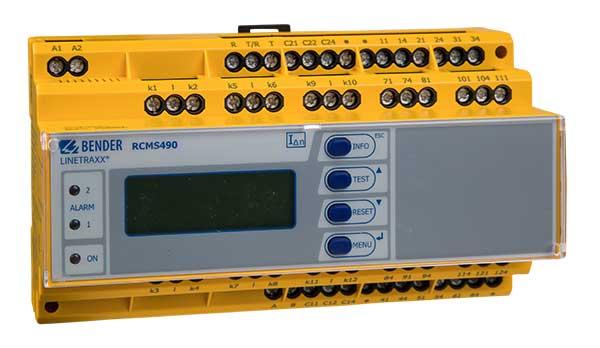 Monitor de Corriente LINETRAXX® RCMS490-D