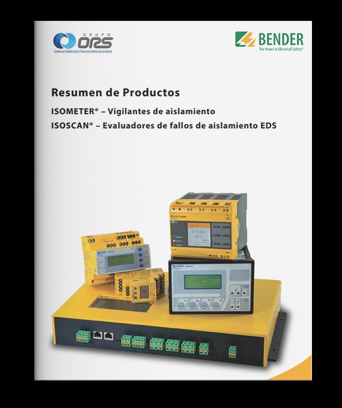 Resumen de productos isometer vigilantes de aislamiento y evaluadores de fallas