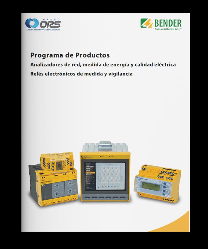Programa de Productos Analizadores de red, medida de energía y calidad eléctrica Relés electrónicos de medida y vigilancia